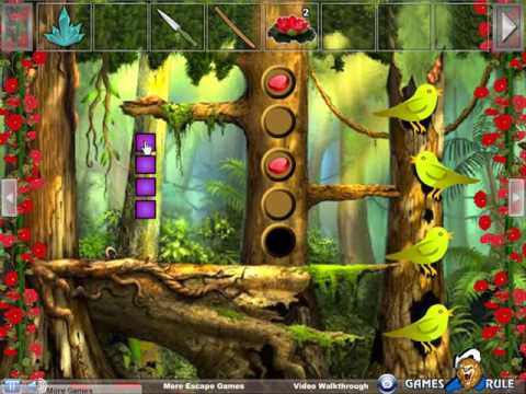 Butterfly Crystal Fairy Escape video walkthrough