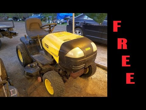 Tractor Hunting Free Stanley GT Made By Murray
