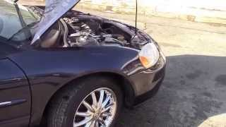 2003 Chrysler Sebring Ltd Convertible Blue for sale