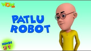 Patlu Robot - Motu Patlu in Hindi - 3D Animation Cartoon for Kids - As seen on Nickelodeon