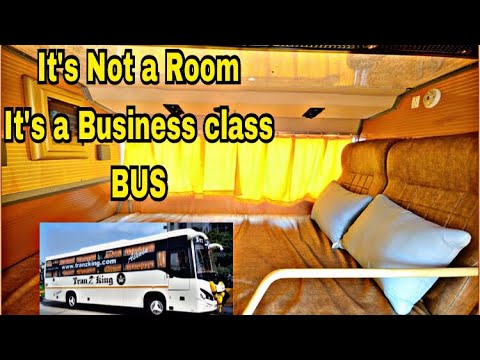 Tranz King Travels |Executive Sleeper Class Bus|Chennai -Coimbatore | New  Features| 33
