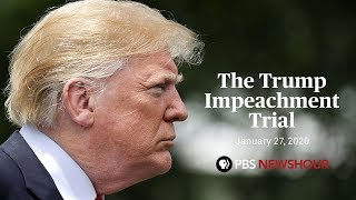 WATCH LIVE: Senate impeachment trial of Donald Trump | January 27