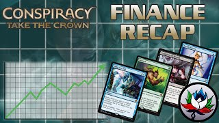 MTG – Conspiracy: Take the Crown Financial Update and Analysis – Insane Price Drops!