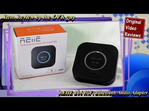REIIE B06 HiFi Bluetooth Audio Adapter Review