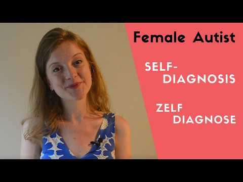 Don't be weird about self diagnosis   AUTISM