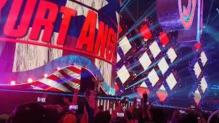 Kurt Angle Wrestlemania 34 Entrance Audience POV