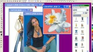 Видео - урок 3 в Corel Photo-Paint