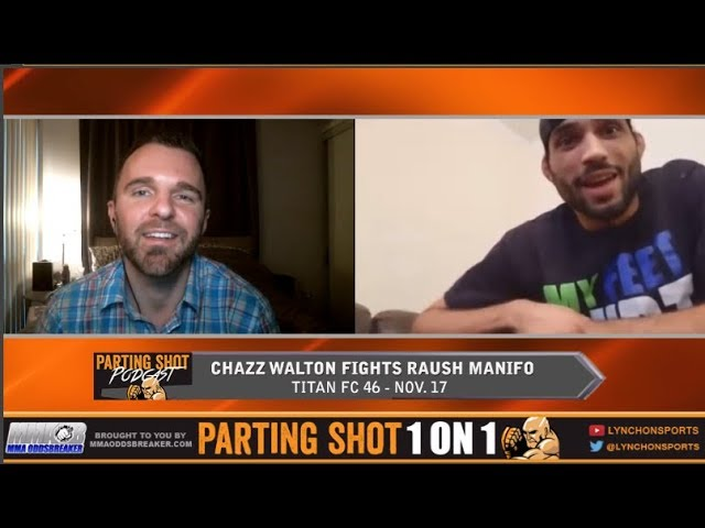 Undefeated Chazz Walton talks Titan FC debut Nov. 17 and training with the Lima Brothers