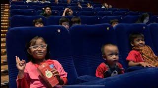 Pengalaman Pertama Pixel Nonton di Bioskop Menonton Film Spiderman Into The Spider Verse