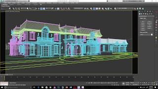Exterior Arch Viz Part 1: Importing and Modeling To CAD In 3ds Max (free model download)