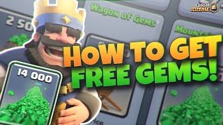 Clash Royale - THIS APP GIVES YOU FREE GEMS! (NO HACK/JAILBREAK)