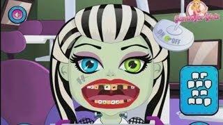 ☺ Девочка монстр лечит зубы ▬ видео игра для детей ☺♦