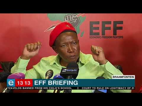 EFF leader Julius