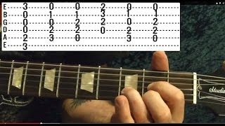 Knockin On Heaven S Door GUNS N ROSES Guitar Lesson Beginner