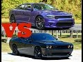 Why I Bought a Dodge Charger Scat Pack Over a Challenger