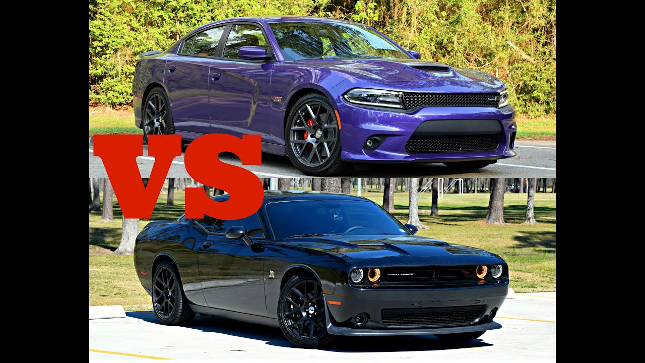Why I Bought a Dodge Charger Scat Pack Over a Challenger - YouTube