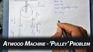 Atwood Machine - PuĮley Problem (Newtonian Mechanics)
