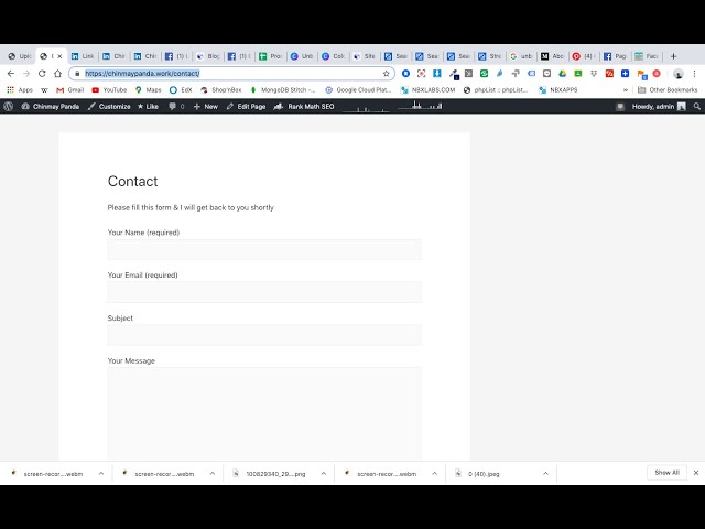 How to add a contact form in your WordPress website