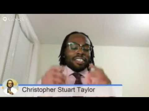 "The Dr. Vibe Show™: Dr. Christopher Stuart Taylor ""Black Identity"""