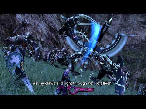 (Wii) Xenoblade Chronicles HD Cutscene 042 - Unfinished Battle - ENGLISH