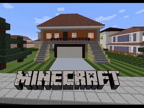 Minecraft: Garajlı Ev Yapımı #4