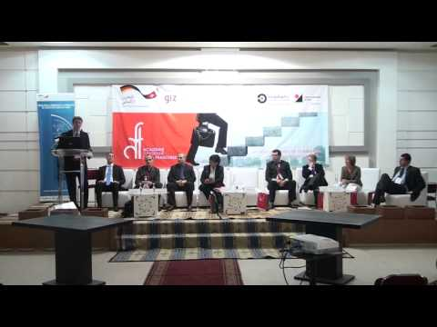 Salon de l'entreprise 2014 : M Richrad finke DGT Middle East Investment Initiative MEII