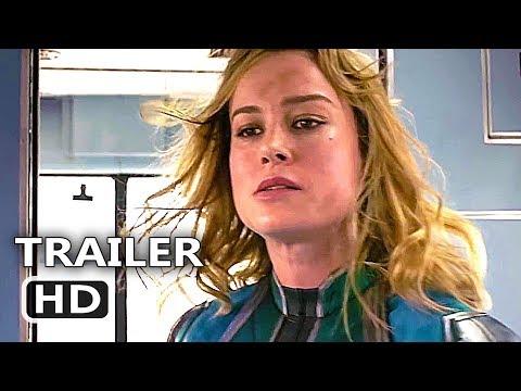 CAPTAIN MARVEL Trailer # 3 (NEW 2019) Brie Larson, Marvel Movie HD