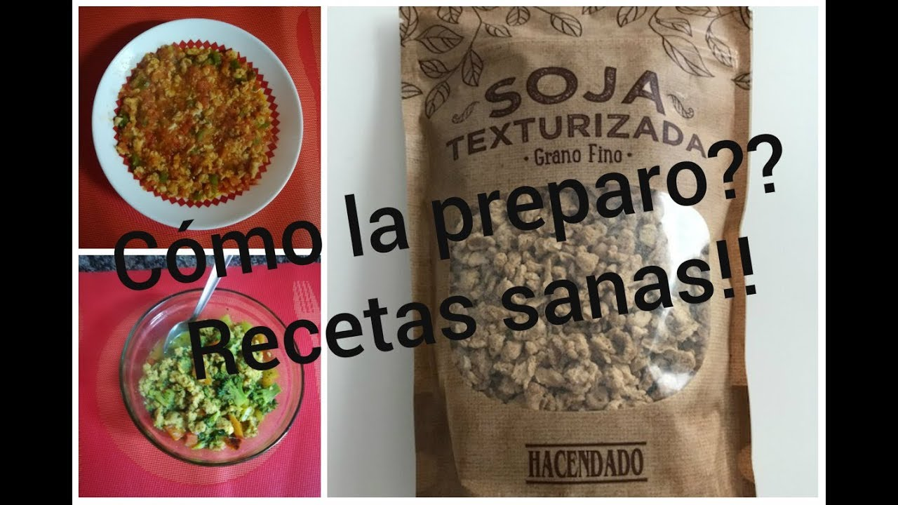 Soja Texturizada Mercadona Fácilfácil Recetas Sanas