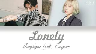 종현 (Jonghyun) - Lonely (ft.Taeyeon) music video sub