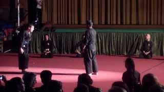 demonstração de kosho ryu kenpo