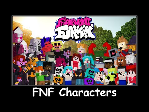 Minecraft FNF All Character Voices Friday Night Funkin' in Minecraft PE