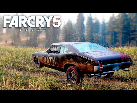 Far Cry 5 - NEW CULTBUSTER VEHICLE & PICKUP BLOWUP LIVE EVENT (Far Cry 5 Free Roam) #33