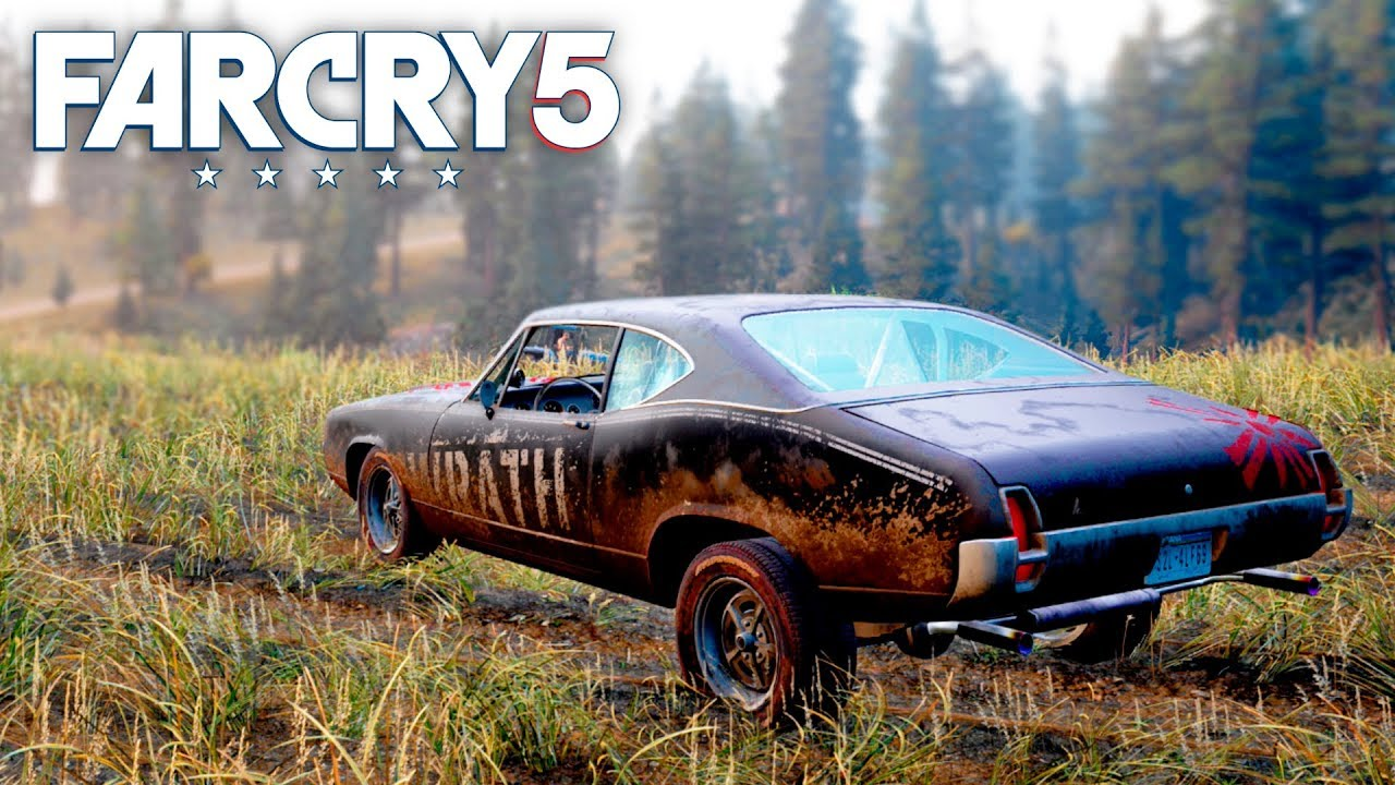Far Cry 5 Pickup Up And Brand New Car Free Roam 33