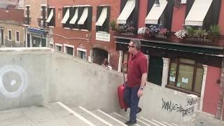'No holiday' - Dorsoduro, Venice, Italy, 16.8.2017