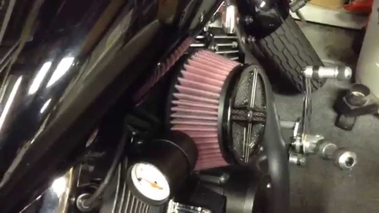 hight resolution of 2008 yamaha v star gas cap fail fuel filter change and air filter update youtube
