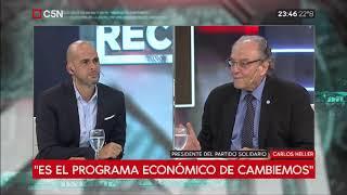 01-04-2019 - Carlos Heller en C5N - Recalculando, con Julián Guarino #HaceFaltaOtraPolítica