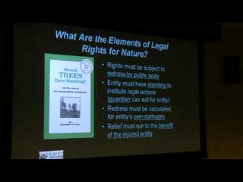 Sustainability Rights of Nature - Linda Sheehan, Executive Director, Earth Law Center