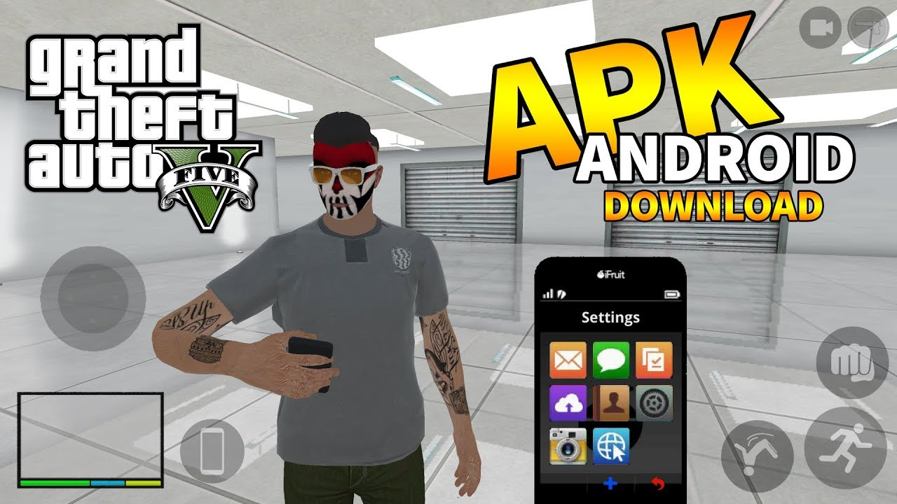 GTA 5 Benzeri Mobil Oyun – Android APK İndir  #Smartphone #Android