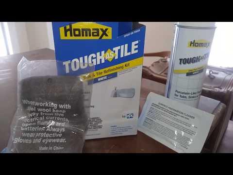 Homax Tub And Tile Refinishing Kit, Homax Diy Bath Tub And Tile Refinishing Review
