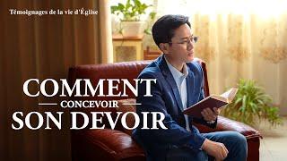 Témoignage chrétien en français 2020 « Comment concevoir son devoir »