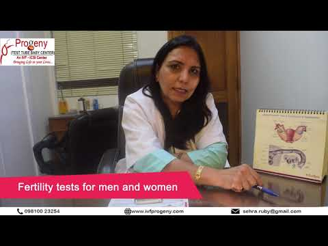 Fertility tests for men and women