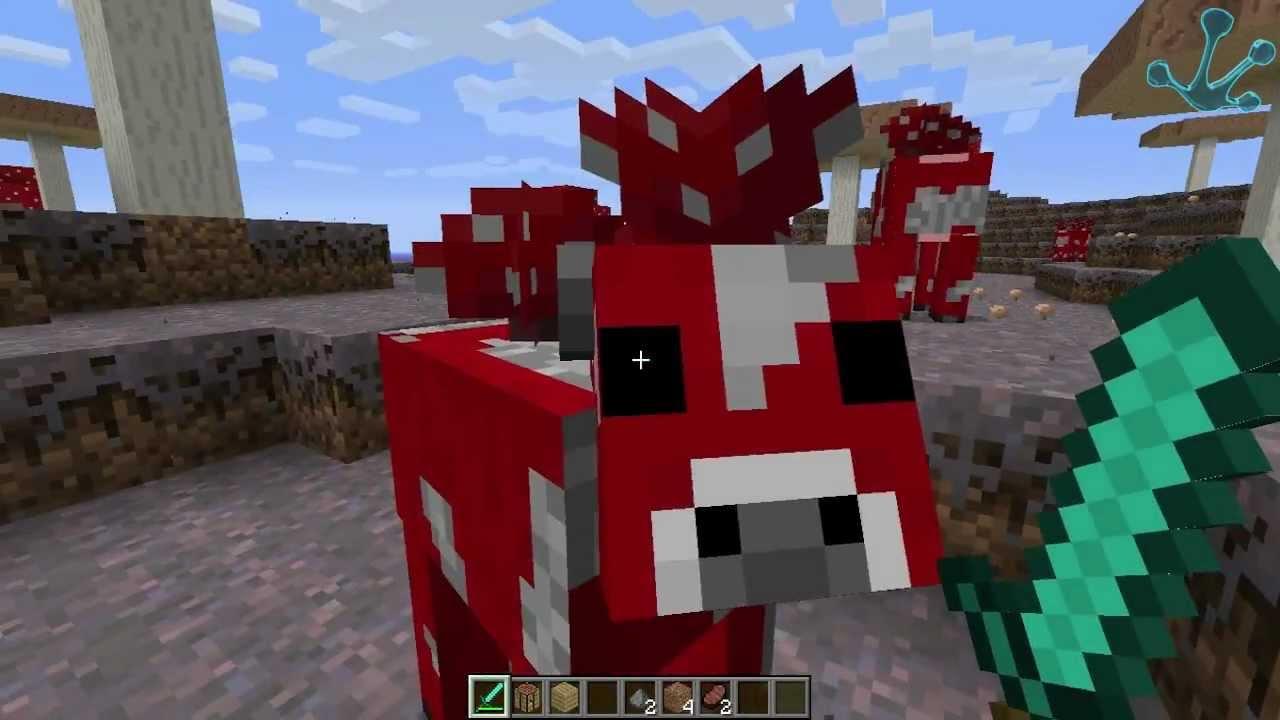 Minecraft la extra a isla con setas youtube - Como hacer sopa de setas en minecraft ...