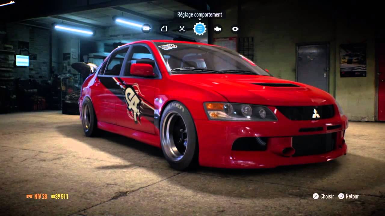 need for speed lancer evo fast and furious 3 drift youtube. Black Bedroom Furniture Sets. Home Design Ideas