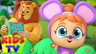 The Lion and The Mouse | Nursery Rhymes & Baby Songs | Stories for Children - Kids Tv