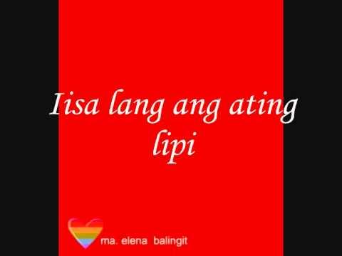 Isang Lahi With Lyrics ( Regine Velasquez )