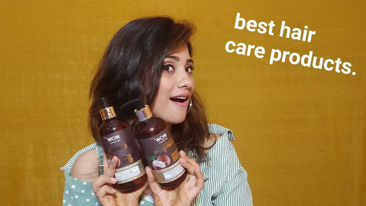 My hair care || wow coconut Shampoo & conditioner