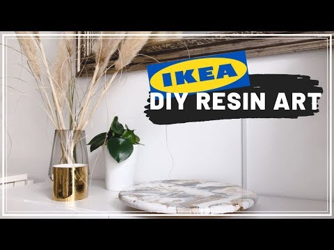 IKEA DIY Resin Art Snudda (Hack , Tutorial einfach)