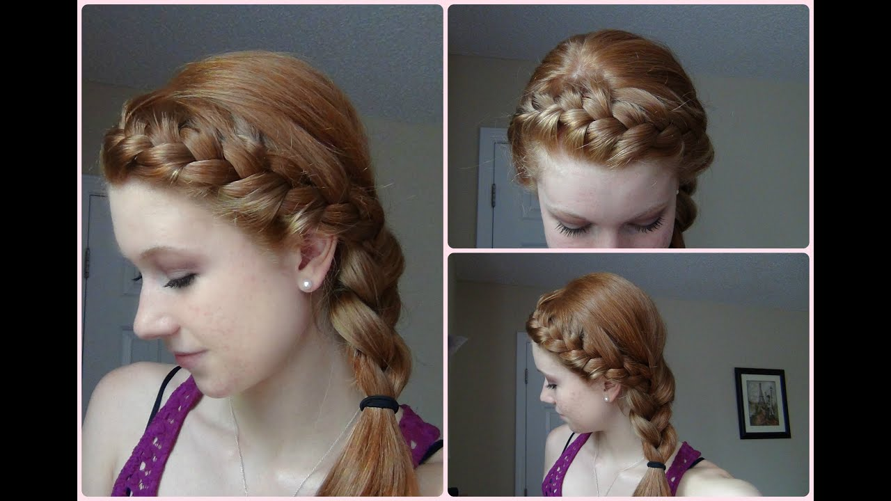 how to make french braid headband