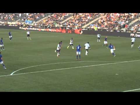 Union vs. Everton FC 2011 Wheres Tim Howard...On Vacation! (Union vs. Everton FC)