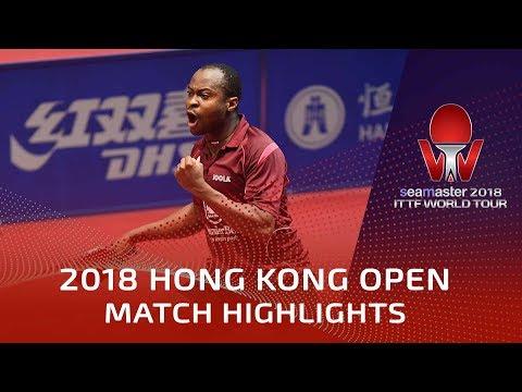 2018 Hong Kong Open Highlights | Aruna Quadri vs Uda Yukiya (R32)